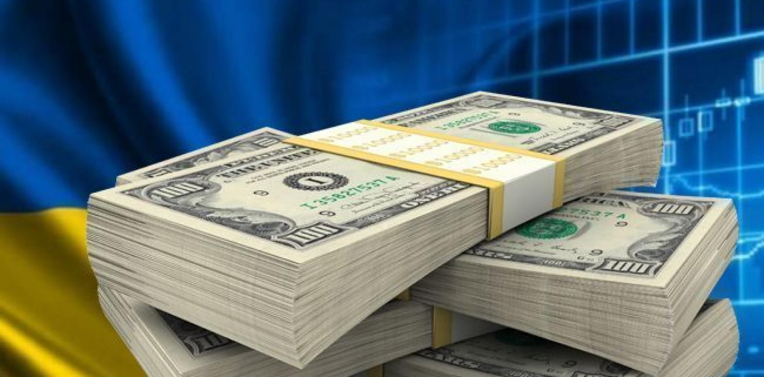 Валовый внешний долг Украины вырос на 1,5 млрд долларов