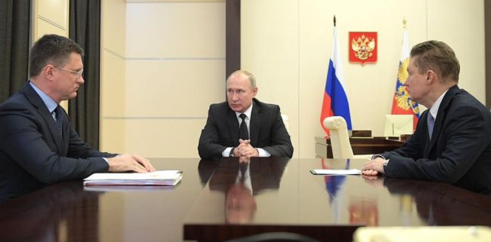 Путин говорил с Зеленским в основном о газе