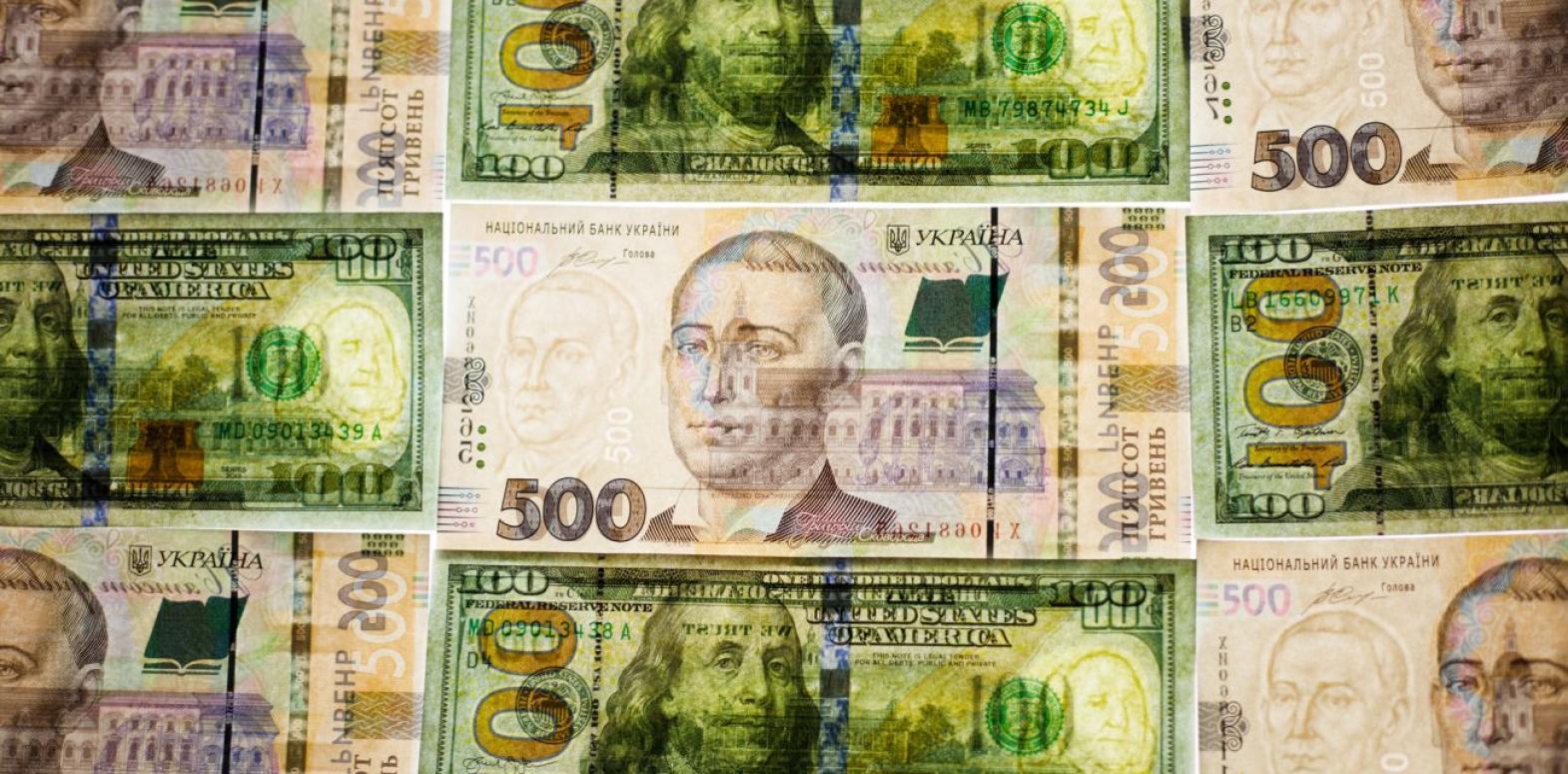 Курс доллара снизился на межбанке, евро приблизился к 30 гривнам
